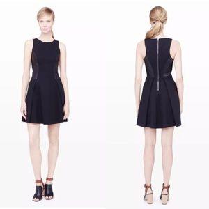 CLUB MONACO Janine Soot Black Noir Dress -size 0